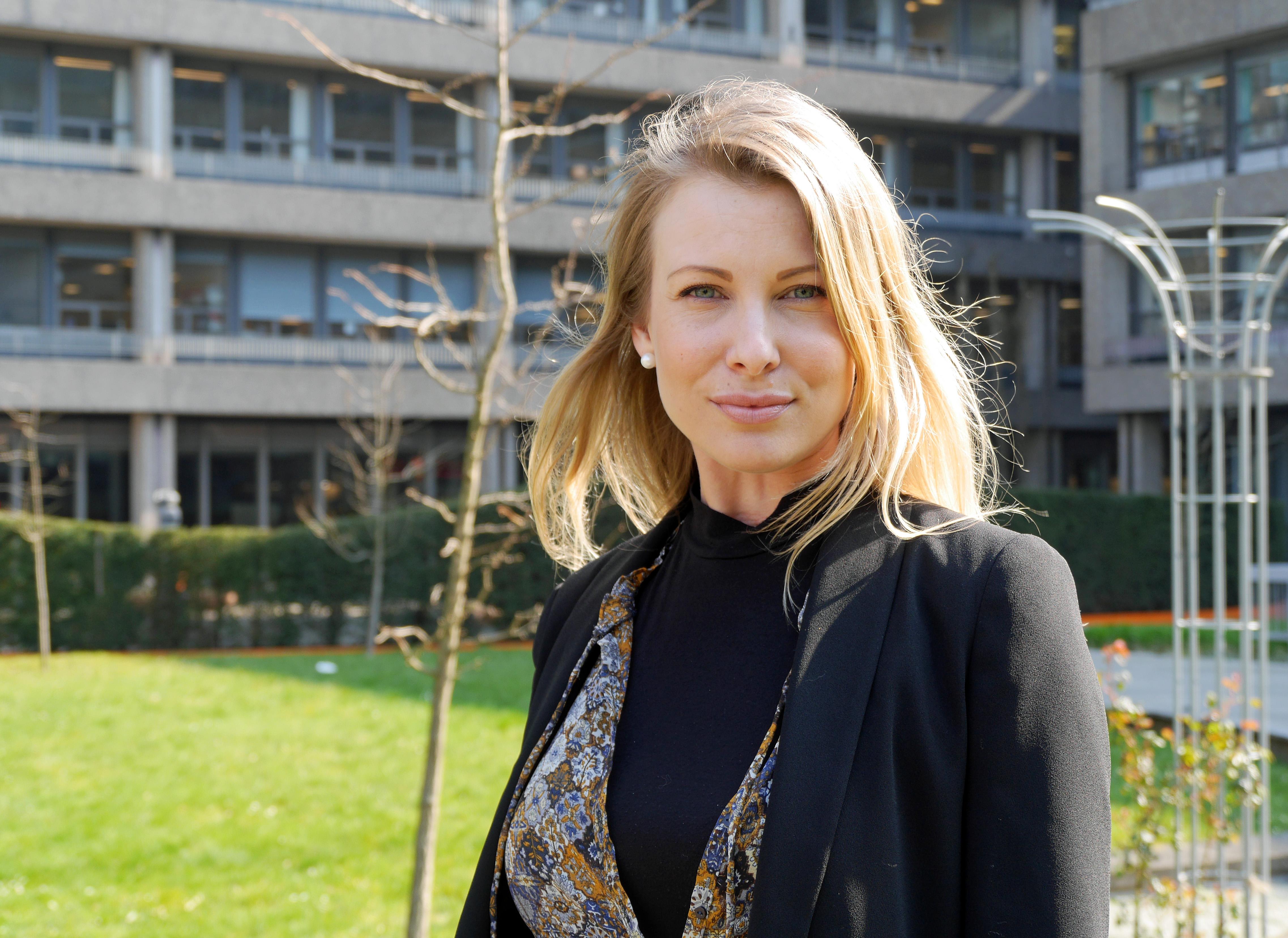 Louise Malene Lindstrøm,tidligere kræftpatient, har givet kunstnerne input.