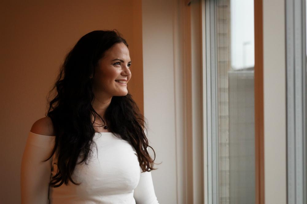 Lisa Ravndam i hjemmet i Fredensborg.